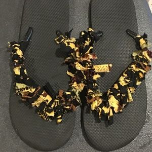 Shoes - Ready for the beach? Not your average flip flops!